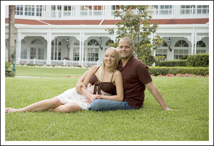 Grand Floridian Engagement Session at Disney World - Florida