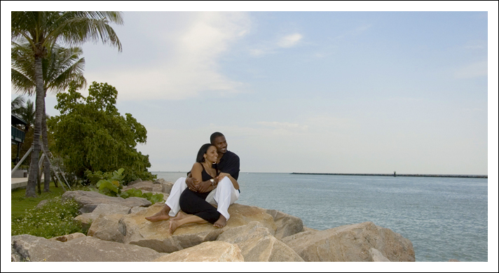 South Beach Engagement Session - Miami, Florida