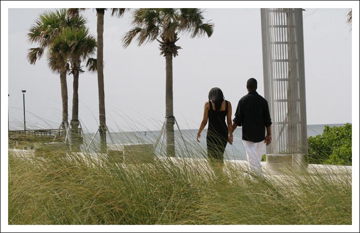 South Pointe Park Engagement Session - Miami, Florida