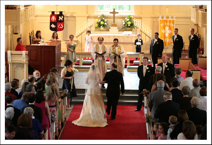 A Village Chapel Wedding - Pinehurst, North Carolina