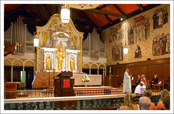 Cathedral Basilica Wedding - St. Augustine, Florida
