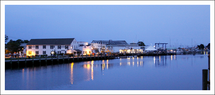 Over Looking Waterfront - Mystic, CT