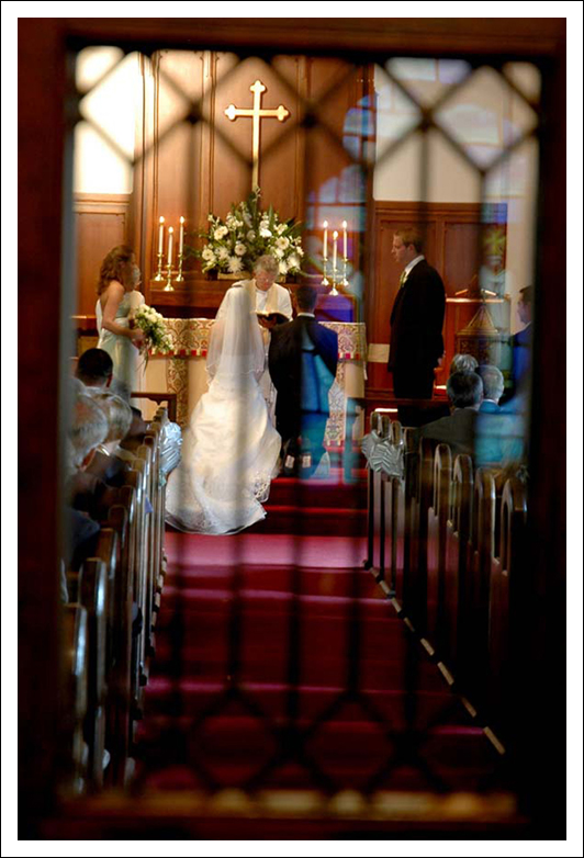 Emmanuel Episcopal Church Wedding - Southern Pines, NC