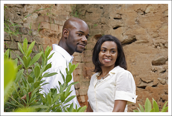 Falls Park Engagement Session - Greenville, South Carolina