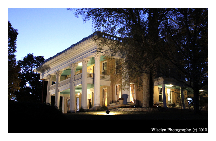 Historic Scott Mansion - Tellico Plains, TN - Wiselyn Fine Art Wedding Photography